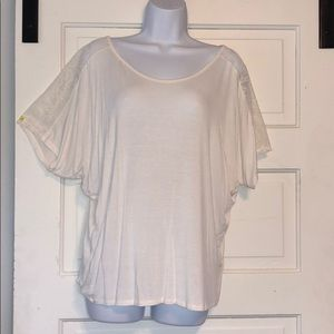 White By & By Blouse juniors